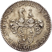 ⅙ Thaler - Heinrich XI. – obverse