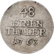 1/48 Thaler - Heinrich XI. – reverse