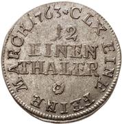 1/12 Thaler - Heinrich XI. – reverse