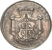 1 Thaler - Heinrich XI – reverse