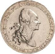 ½ Thaler - Heinrich XI – obverse