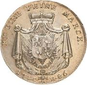 ½ Thaler - Heinrich XI – reverse