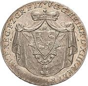 ⅙ Thaler - Heinrich XIII – obverse