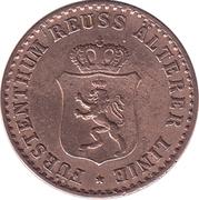 1 Pfennig - Heinrich XXII – obverse