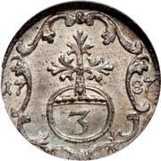 3 Pfennig - Heinrich XI – reverse