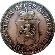 3 Pfennige - Heinrich XXII – obverse