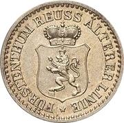 1 Silbergroschen - Heinrich XXII – obverse