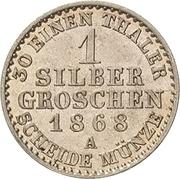 1 Silbergroschen - Heinrich XXII – reverse
