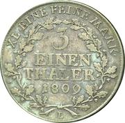 ⅓ Thaler - Heinrich XIII – reverse