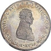 1 Thaler - Heinrich XIII – obverse