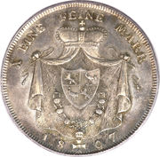 1 Thaler - Heinrich XIII – reverse