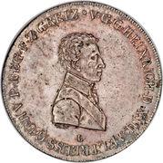 1 Conventionsthaler - Heinrich XIII – obverse