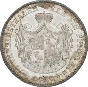 1 Vereinsthaler - Heinrich XX – reverse