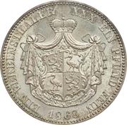 1 Vereinsthaler - Heinrich XXII – reverse