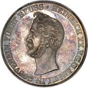 2 Thaler / 3½ Gulden - Heinrich XX – obverse