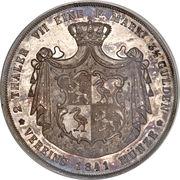 2 Thaler / 3½ Gulden - Heinrich XX – reverse