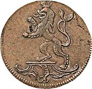2 Pfennig - Heinrich XI – obverse