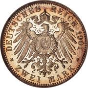 2 Mark - Heinrich XXII – reverse