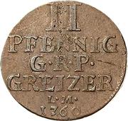 2 Pfennig - Heinrich XI – reverse