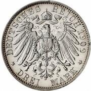 3 Mark - Heinrich XXIV (Pattern) – reverse