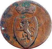 3 Pfennig - Heinrich XIII – obverse