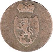 3 Pfennig - Heinrich XIX – obverse