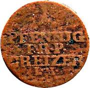1 Pfennig - Heinrich XI – reverse