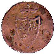 1 Pfennig - Heinrich XIII – obverse