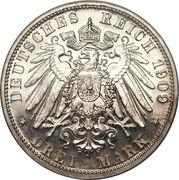 3 Mark - Heinrich XXIV – reverse