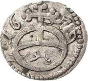 1 Pfennig - Heinrich I. – reverse