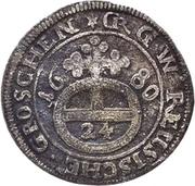 1 Groschen - Heinrich I. – reverse