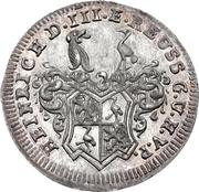 1 Groschen - Heinrich IX. – obverse