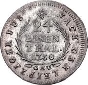 1 Groschen - Heinrich IX. – reverse