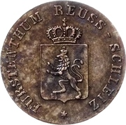 1 Pfennig - Heinrich LXII – obverse