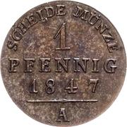 1 Pfennig - Heinrich LXII – reverse