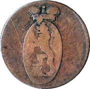 3 Pfennig - Heinrich XLII – obverse