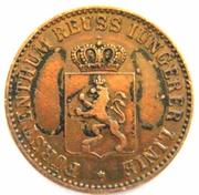 3 Pfennig -  Heinrich LXII – obverse