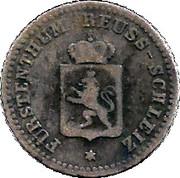 1 Silbergroschen - Heinrich LXII – obverse