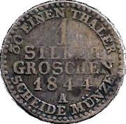 1 Silbergroschen - Heinrich LXII – reverse