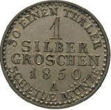 1 Silber Groschen - Heinrich LXII – reverse