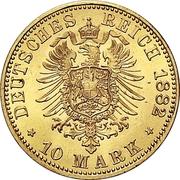 10 Mark - Heinrich XIV – reverse