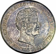 2 Thaler / 3½ Gulden - Heinrich LXII – obverse