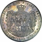 2 Thaler / 3½ Gulden - Heinrich LXII – reverse