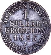 1 Silbergroschen - Heinrich LXVII – reverse