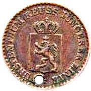 1 Pfennig - Heinrich LXVII – obverse