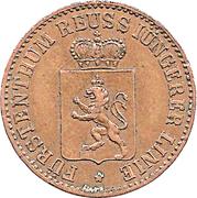 3 Pfennige - Heinrich XIV – obverse