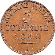3 Pfennige - Heinrich XIV – reverse