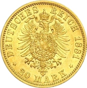 20 Mark - Heinrich XIV – reverse