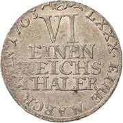 ⅙ Thaler - Heinrich XII. – reverse