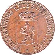 3 Pfennig - Heinrich LXVII – obverse